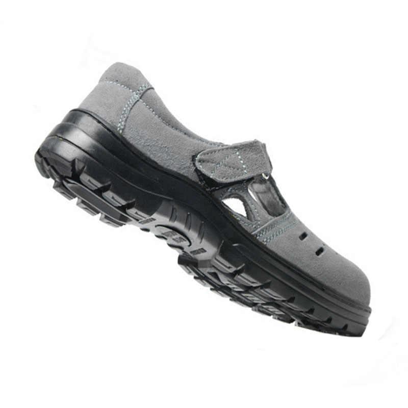 Рабочая страховая обувь; летние сандалии с защитой от наводнений; устойчивые к прониканию защитные туфли; нескользящие удобные легкие рабочие туфли