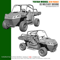 YUFAN Model Original 1/35 American Terrain Vehicle Resin Vehicle YFWW35 1819 KNL Hobby