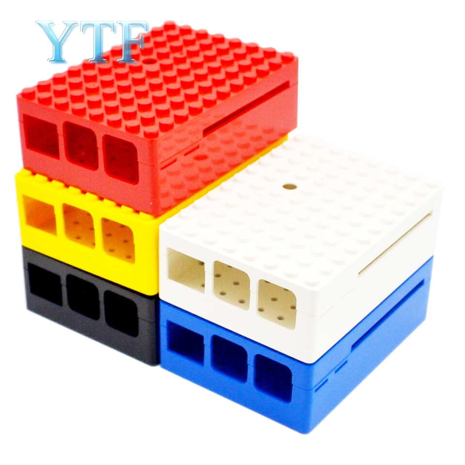 Raspberry Pi 3 B+/2B/3B Plus  Case Shell Official Origin  Red Bricks
