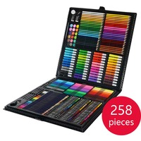 258 Pieces New Children S Painting Set Drawing Tool Brush Elementary School Water Color Pen Art
