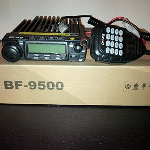 Image 5 - Baofeng BF 9500 UHF 400 470MHz 200CH CTCSS/DCS/DTMF Transceiver, 50W/25W/10W Car Mobile Vehicle Radio