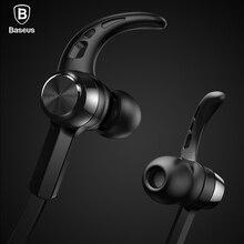 Baseus профессиональный-вкладыши bluetooth наушники металл тяжелый бас высокое качество звучания музыки беспроводные наушники для всех телефонов