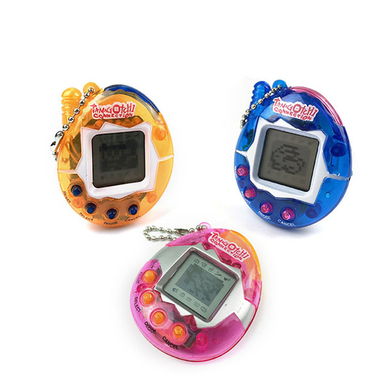 Dropshipping Multi-colors 90S Nostalgic 49 Pets in 1 Virtual Cyber Pet Toy Tamagotchis Electronic Pets Keychains Gift Toys
