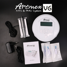Hhigh quality Permanent Makeup machine  Artmex V6 Eye Brow Lip Rotary Pen Tattoo Machine MTS PMU System with tattoo needle