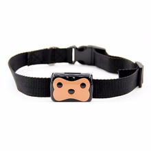 Free shipping, pet mini-tracking positioning collar, GPS dog anti-lost device