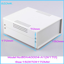 (1pcs )150x70x170mm iron distribution electronics box for pcb outlet steel instrument case housing for electronics
