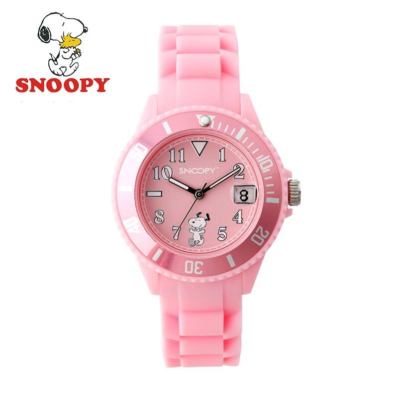 Snoopy Kids Watch Children Watch Cool  Cute Quartz Wristwatches Girls Sports Clock hoska h802s children quartz watch
