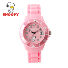 2017 Snoopy Kids Watch Children Watch Cool Cute Quartz Wristwatches Girls Sports Clock