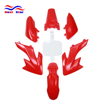 Fairing Plastic Fender Body Kit For HONDA XR50 CRF50 XR CRF 50 Dirt Bike Off Road Motorcross Motorcycle image