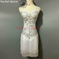 2017 New Women Latin Dance Dress Women Ballroom Dancing Dress Latin Dance Costume Dance Latin Dresses Tango Dress Samba Skirts