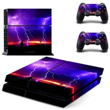 Skin Sticker PS4 of The power of nature for Sony Playstation 4 Console and Controller