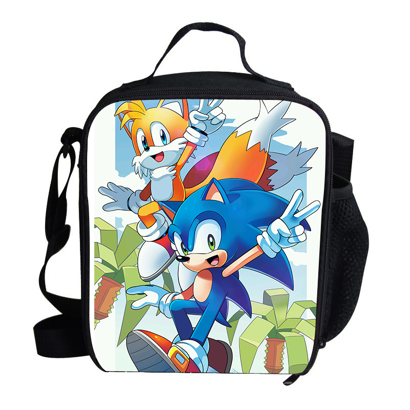 Hot Popular Lunch Bag For Kids Sonic The Hedgehog Lunch Bag For Boys Personalized Insulated Thermal Cooler Children Handbags Wholesale Leather Purse From Xiamenshoes 54 38 Dhgate Com