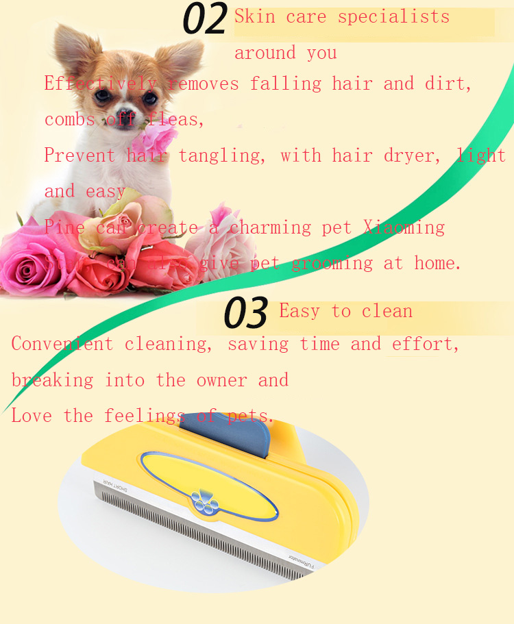 Pet Removal Hair Comb Cat Grooming Tool