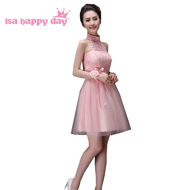 Short Princess Pretty Simple Lovely Sweet 16 Prom Dresses Light Pink