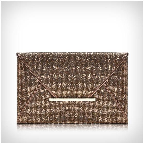 Luxury Party Glitter Envelope Clutch Bag
