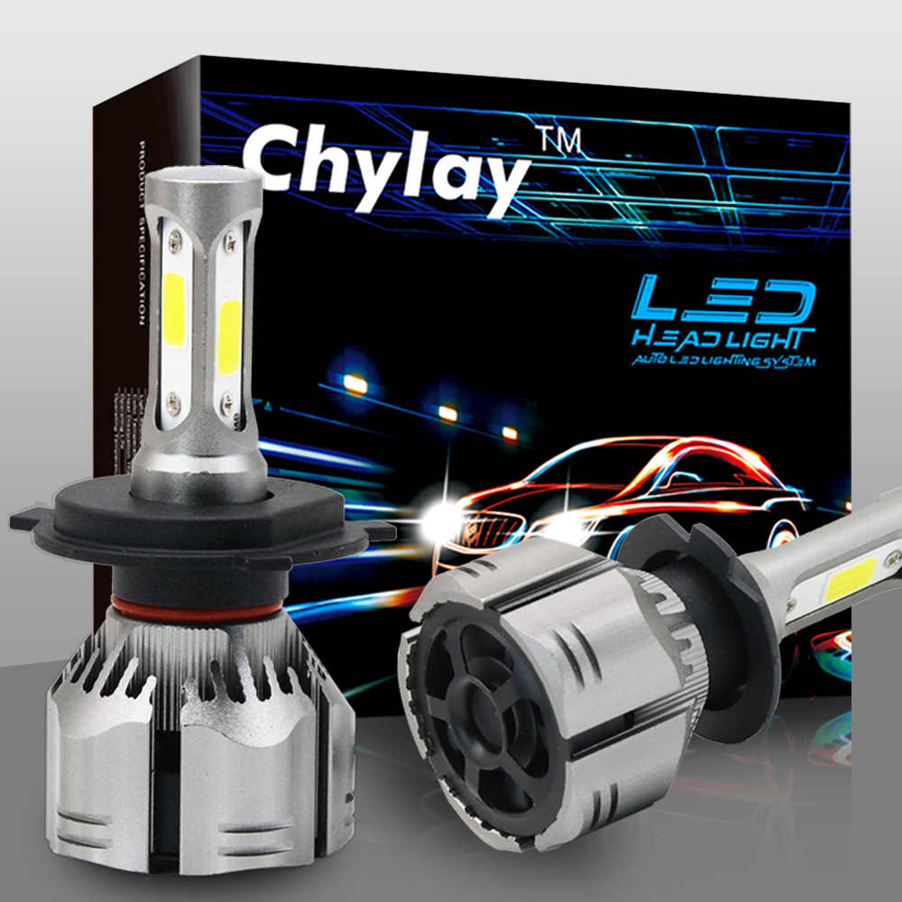 One Pair H4 LED Bulb H1 H3 H7 H11 H8 HB4 HB3 9005 9006 9012 Led Headlight Bulbs 60W 9000LM 6000k Auto Car Lamp Fog Light 12V