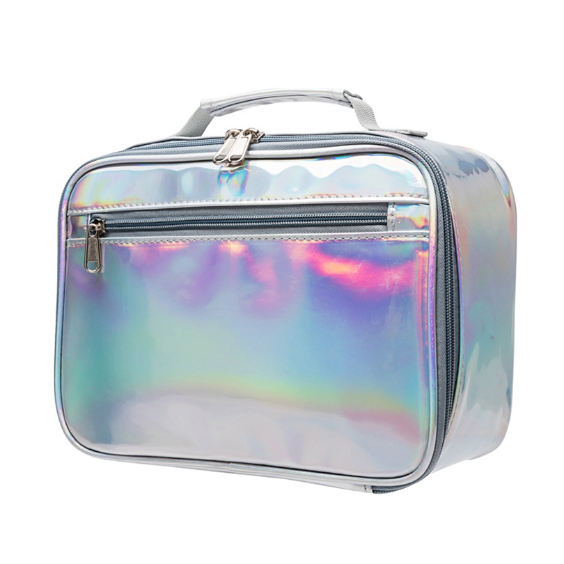 Heopono Laser PVC Food Grade Fitness BPA Free Eco Friendly Thermal Cooler Kids Insulated Lunch Bag Children Lunch Box