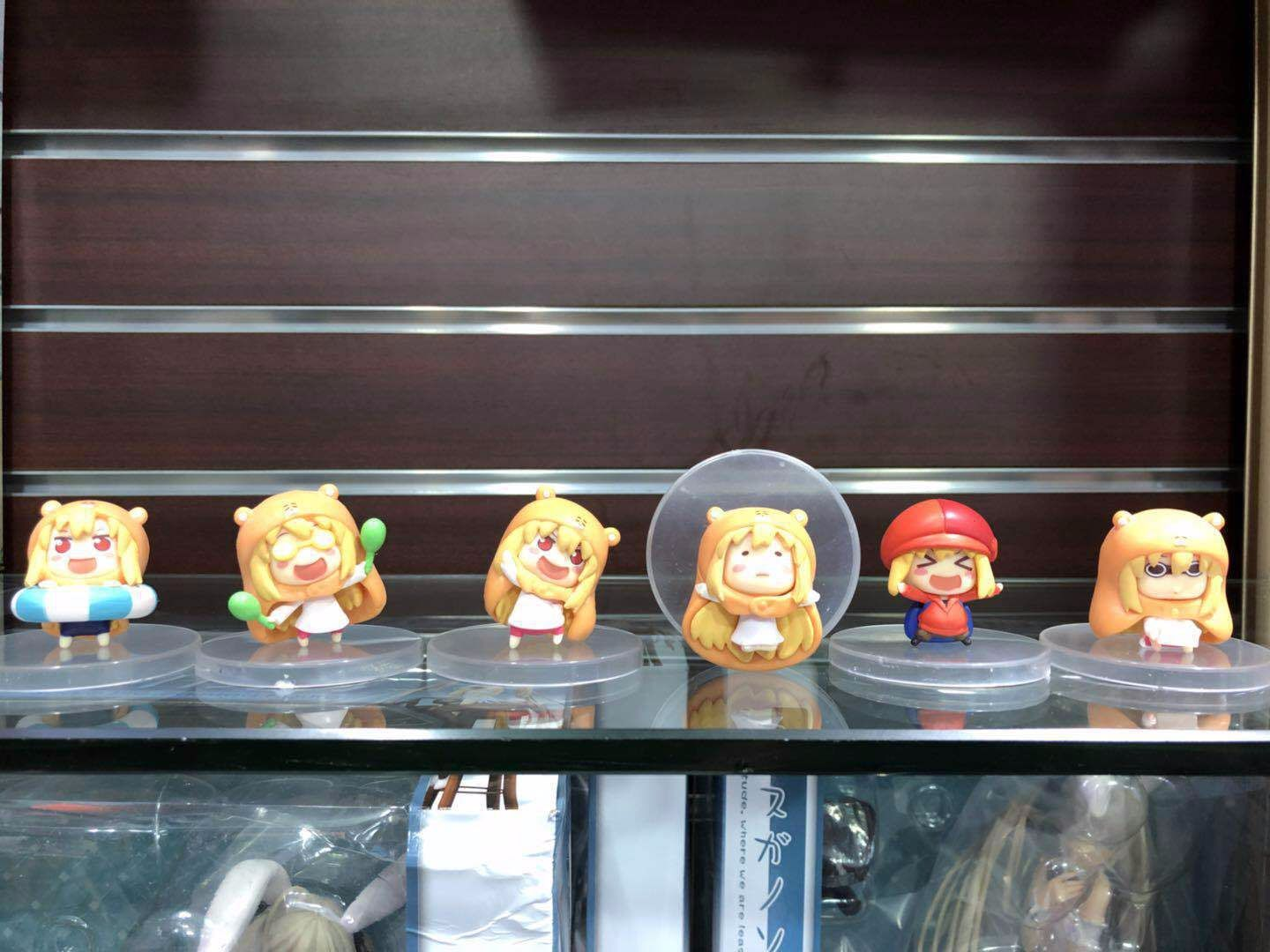 5CM pvc Japanese anime figure Himouto! Umaru-chan 6 pcs per lot Q version action figure collectible model toys for boy