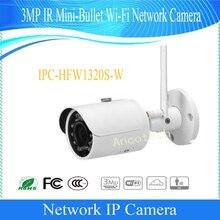 Free Shipping DAHUA IP WIFI Camera CCTV 3MP WIFI Small Fixed IR Bullet IP Camera IP67 DH-IPC-HFW1320S-W