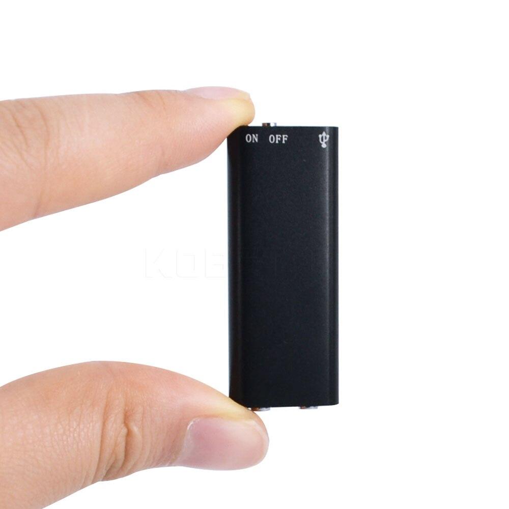 Kebidumei3 в 1 Мини Цифровой Аудио Голос Регистраторы диктофон + стерео MP3 плеера + 8 ГБ памяти usb флэш-диск