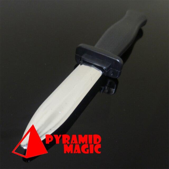 Бесплатная доставка! Гибкий шутка нож, Забавный макро-стрит стадия фокусы для детей комиксов нож может в сложенном положении в ручку