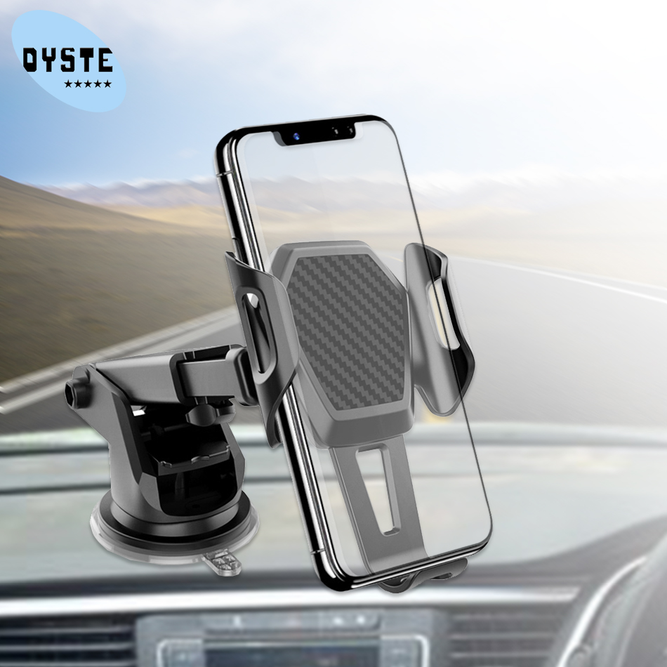 Car Phone Holder For Samsung S10 S9 S8 A50 A70 A8 J7 2017 2018 Note 9 8 Car Holder Munt Windshield Smartphone Mobile Stand Holde