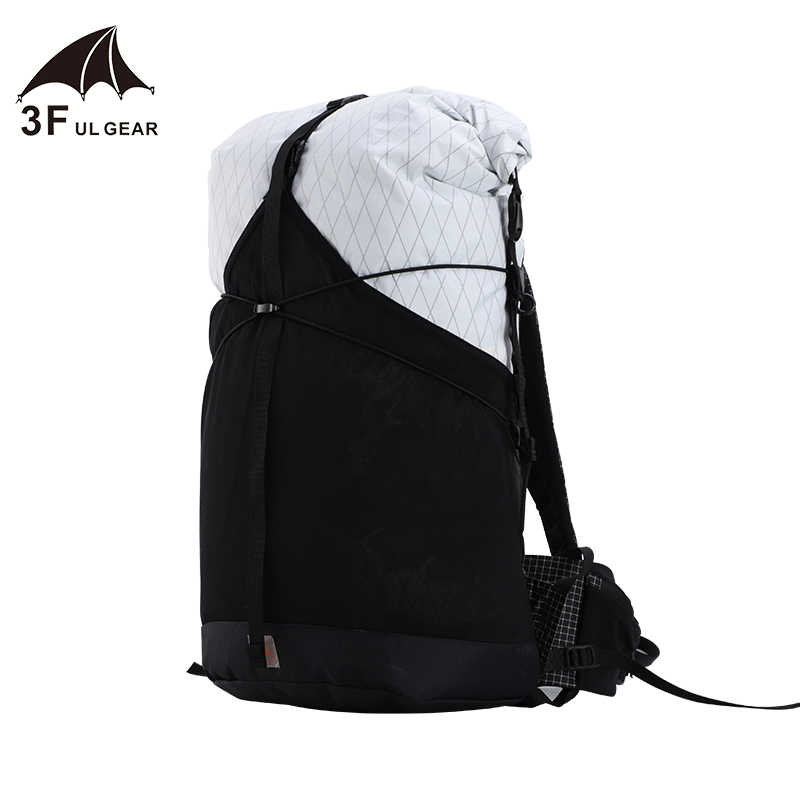 3F UL Gear 35L Ransel Xpac/Uhmwpe Bahan Ringan Tahan Lama Perjalanan Tahan Air Camping Ultralight Hiking Outdoor
