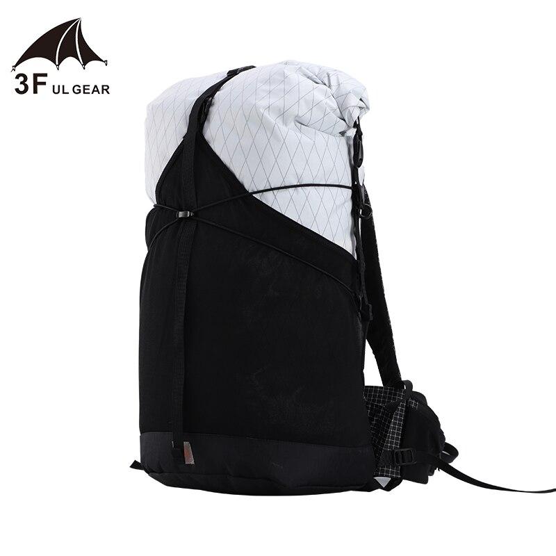3F UL GEAR 35L mochila XPAC/UHMWPE Material ligero Durable viaje impermeable Camping ultraligero senderismo al aire libre