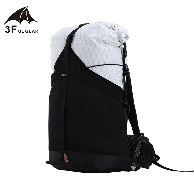 3F UL GEAR <font><b>35L</b></font> <font><b>Backpack</b></font> XPAC/UHMWPE Material Lightweight Durable Travel Waterproof Camping Ultralight Hiking Outdoor image