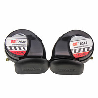 Universal Enhanced Motorcycle Car Sound Air Horns DC12V 510Hz Snail Speakers Motorbike Racing Horn Warning Loud