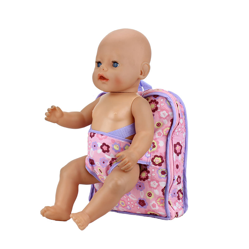где купить Outgoing Packets Outdoor Carrying Doll Backpack Suitable for Carrying Fit For 43cm Baby Reborn Zapf Dolls по лучшей цене