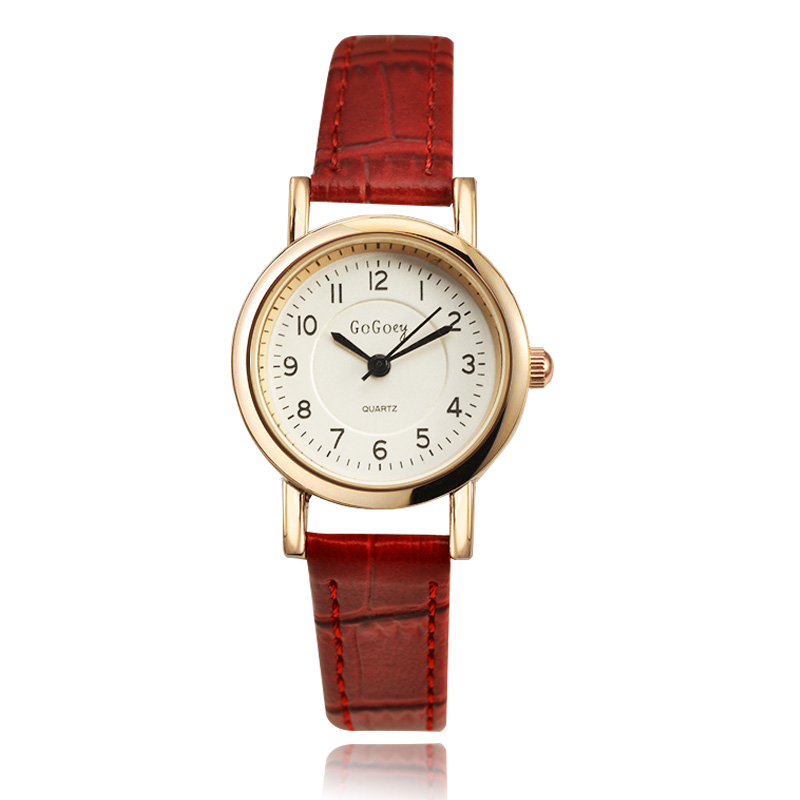 Simple Elegant Women Watches 2018 New Hot Sell Brand Gogoey Wristwatches Fashion Ladies Leather Quartz Watch Reloj Mujer Clock simple elegant women watches 2018 new hot sell brand gogoey wristwatches fashion ladies leather quartz watch reloj mujer clock page 2