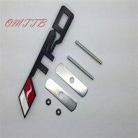 3D Metal TRD Grille Emblem Badge Sticker TRD Metal Emblem For Toyota Racing JDM Hood Badge