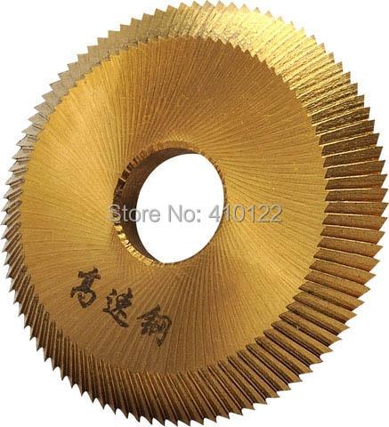 HSS 16x60x6mm Cuchilla de corte de llave para 238BS o 2AS o RH-2 o BW-9 Máquina de corte de llave horizontal Herramientas de cerrajería de corte de disco