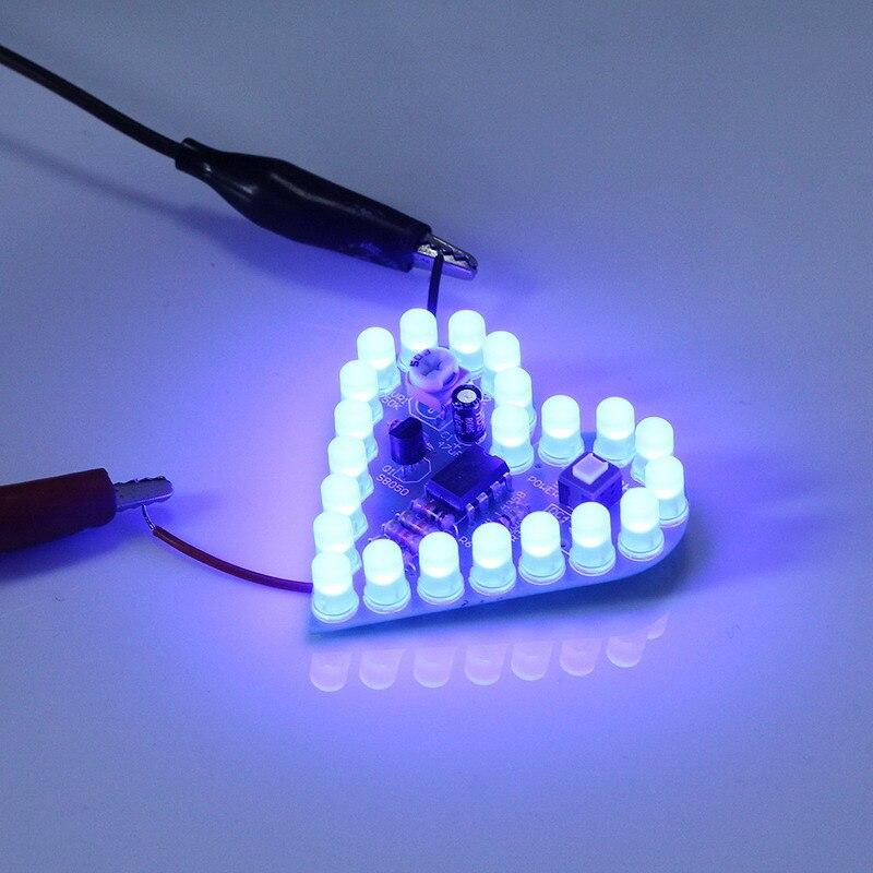 Heart Shape breathing lamp