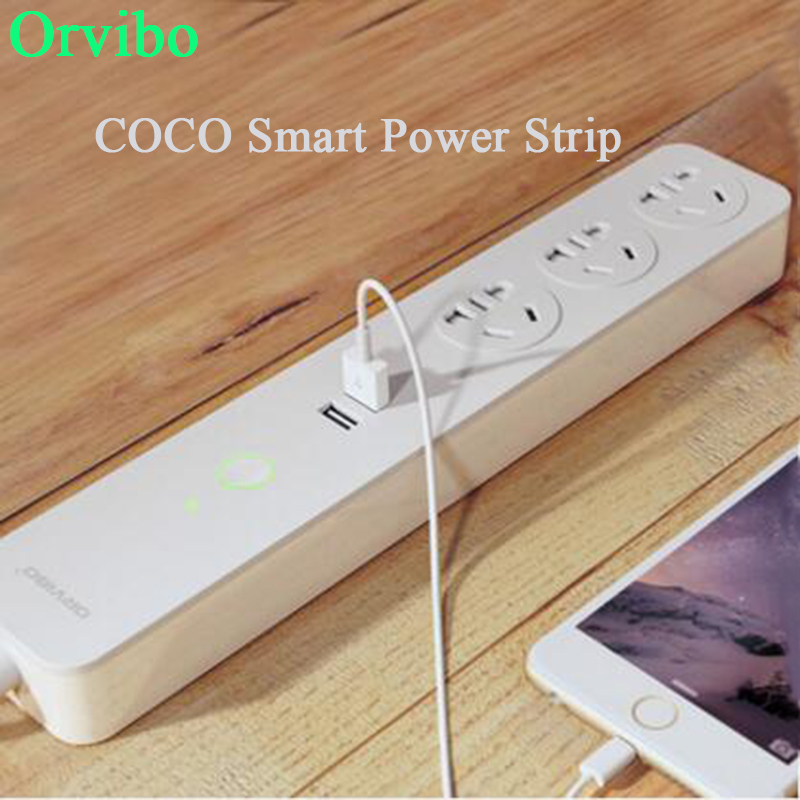 Good quality Orvibo Smart Wi-Fi Socket 2 USB Extension Socket Plug with Socket A