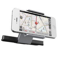 Universal One Touch Installation CD Slot Smartphone Car Mount Holder Cradle For IPhone 6 6S Plus