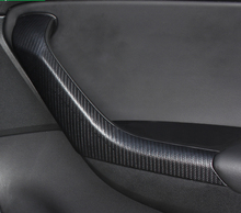 4pcs PU for SKODA KODIAQ Car door Handrail decorate sticker Improvement  creaking problem