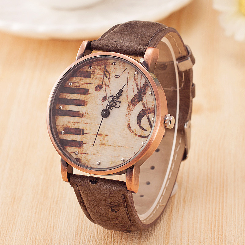 Hot Fashion creative Women dress quarzt Watches leather casual men Business Sport wristwatches strap clocks Relojes mujer 2017