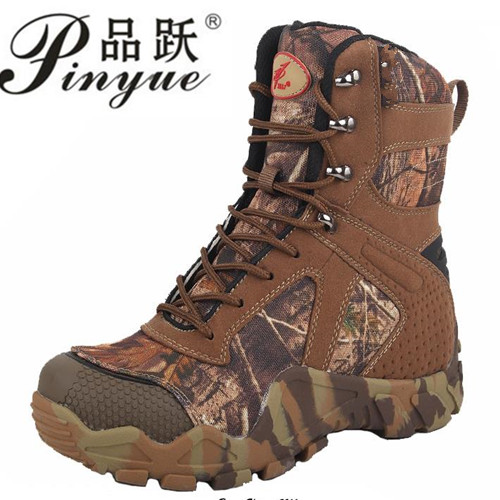 camouflage Hunting Boots Camouflage Boot Waterproof,Outdoor camouflage Boot Hunting Fishing Shoes Size 39-44 2016 sale professional men s boots camouflage military boot waterproof hunting hiking shoes size euro 39 44 bo01