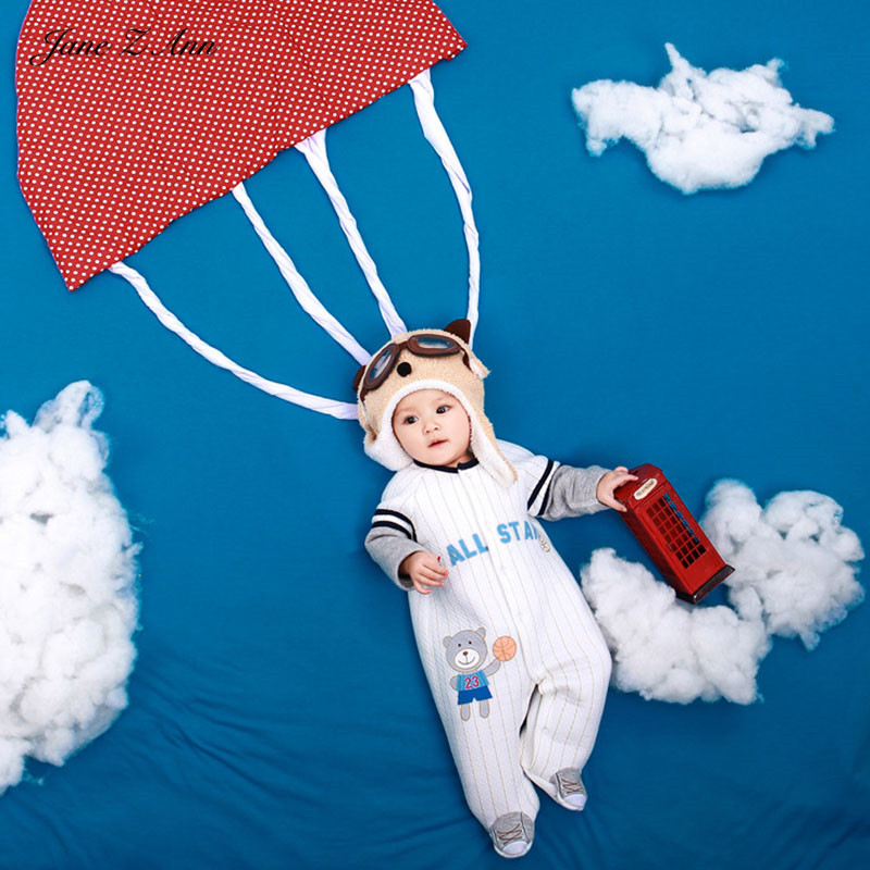Jane Z Ann Baby Photography Props Theme Background Costume Clothes Baby parachute photo Accessories Studio Shooting Photo Props vinyl photo background for baby studio props wooden floor christmas photography backdrops 5x7ft or 3x5ft jiesdx005