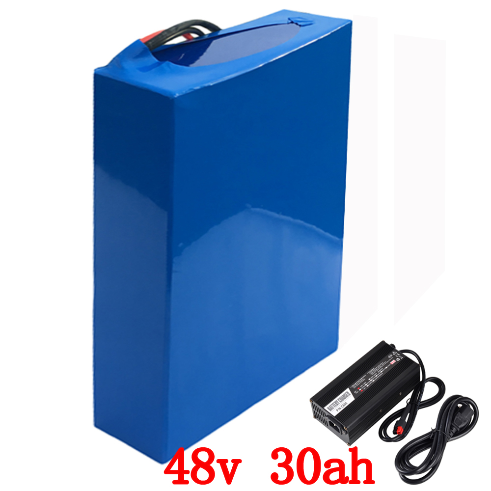 48V 30AH electric bike battery Battery 48V 2000W Lithium  Battery Pack 48V battery With 50A BMS and 54.6V 5A charger48V 30AH electric bike battery Battery 48V 2000W Lithium  Battery Pack 48V battery With 50A BMS and 54.6V 5A charger