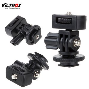 "Image 1 - Viltrox DC 50P 1/4"" Screw Hot Shoe Mount Adapter Adjustable Angle Pole For DSLR Camera Flash LED Light Monitor"