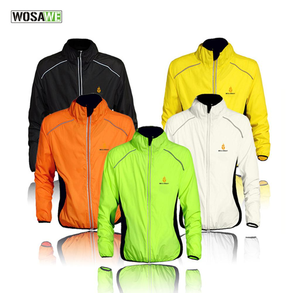 LumiParty Outdoor Sports Riding Long Sleeve Tops Waterproof Coat Breathable Lightweight Jacket