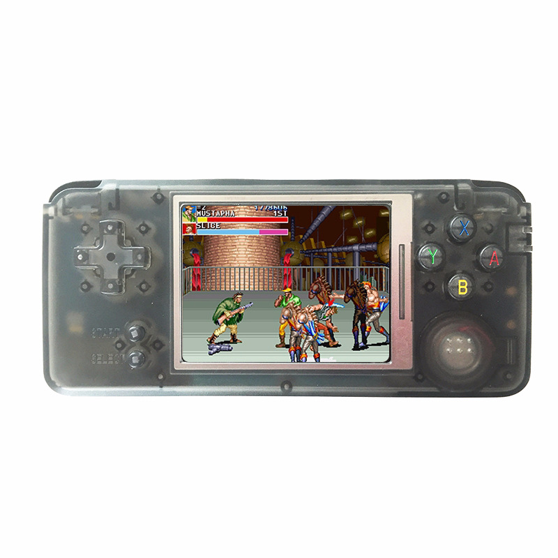 2017 New Arrival RETRO Handheld Game Console Portable Video Gaming Console MP4 Video Playback Built-in 1151 Childhood Games sanwa button and joystick use in video game console with multi games 520 in 1