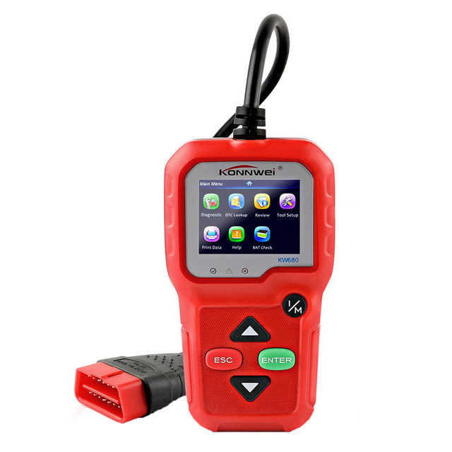 CARPRIE Instrument Tool NEW hot sale KW680 OBD2 Viecar Car Code Reader Diagnostic Scan Tool Multi Languages high quality 9624