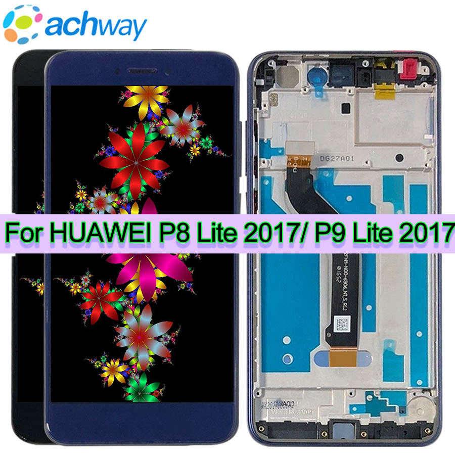 5.2 ORIGINAL HUAWEI P8 Lite 2017 LCD Touch Screen HUAWEI P9 Lite 2017 PRA-LX1 LA1 LX2 LCD Display Nova Lite Display GR3 20175.2 ORIGINAL HUAWEI P8 Lite 2017 LCD Touch Screen HUAWEI P9 Lite 2017 PRA-LX1 LA1 LX2 LCD Display Nova Lite Display GR3 2017