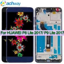 """5.2 """"oryginalny dla HUAWEI P8 Lite 2017 ekran dotykowy LCD dla HUAWEI P9 Lite 2017 PRA LX1 LA1 wyświetlacz LCD Nova Lite wyświetlacz GR3 2017"""