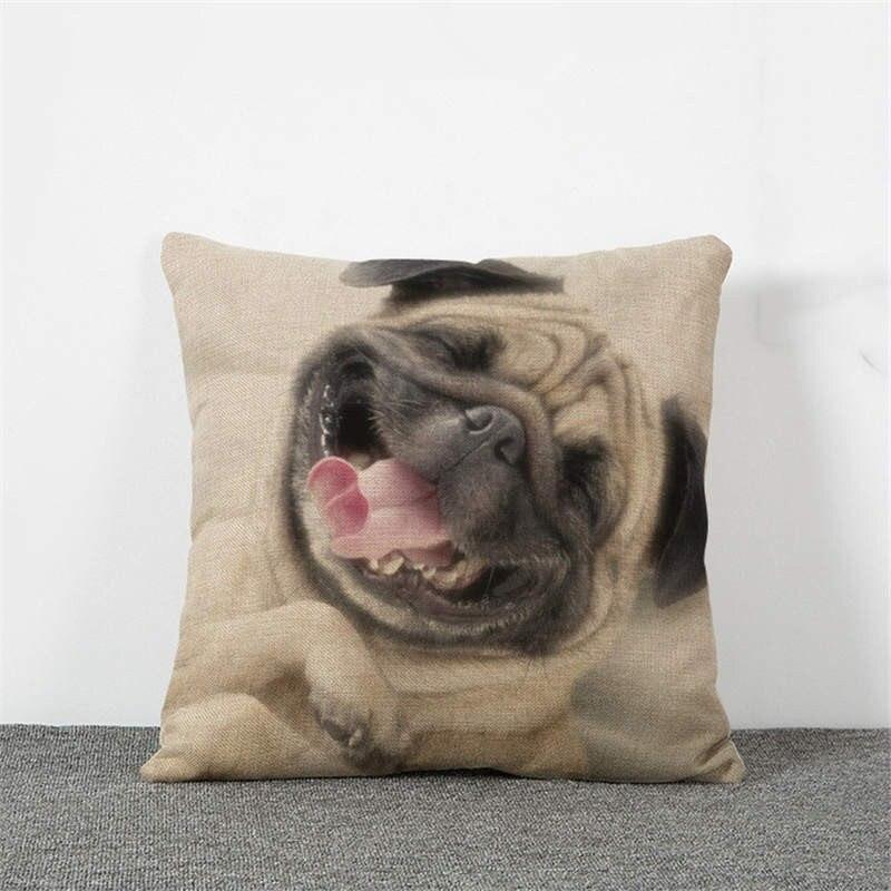 HTB1tWRMMFXXXXasaXXXq6xXFXXX6 - Pug Pillow Cover
