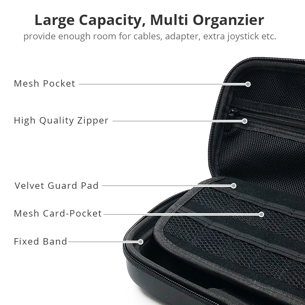 Nintend Switch Carry Case Storage Bag for Nintendos Switch Durable Travel Case for Nitendo Switch Accessories in Bags from Consumer Electronics